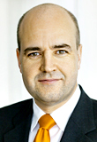 Swedish Prime Minister Fredrik Reinfeldt - Photo: Pawel Flato
