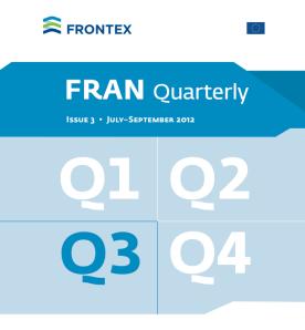 FRAN Q3 2012 Cover