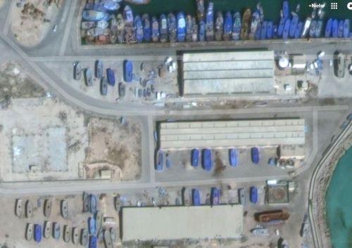 Zuwara Harbour South Warehouses South 2015 via Google Earth