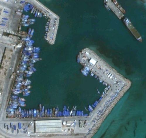 Zuwara Harbour 2015 Via Google Earth