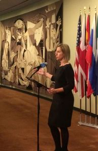Mogherini at UNSC